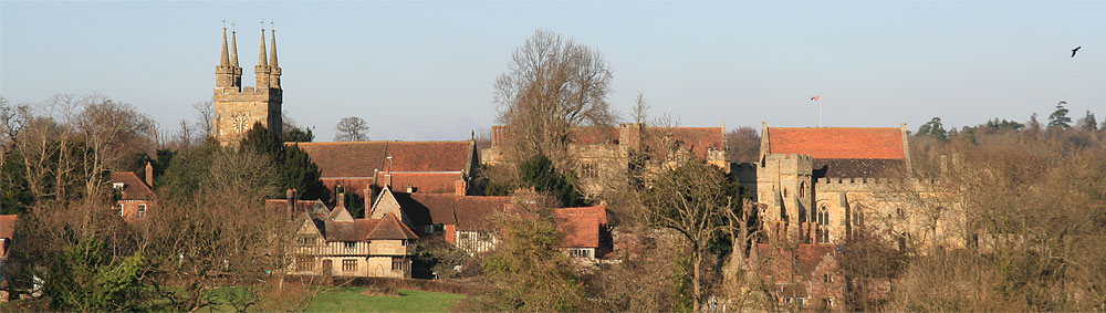Church Field and Penshurst Place
