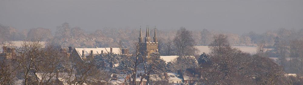 Penshurst in winter